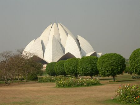 Bahai house of worship in Delhi