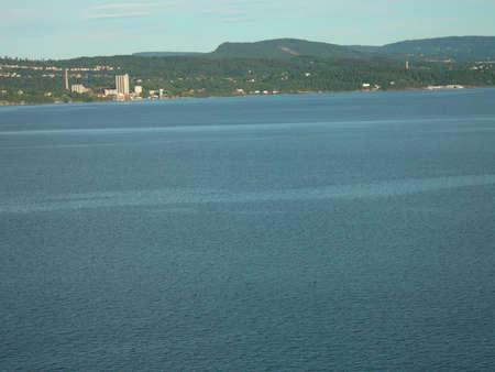Slemmestad in the Oslofjord Stok Fotoğraf - 522387