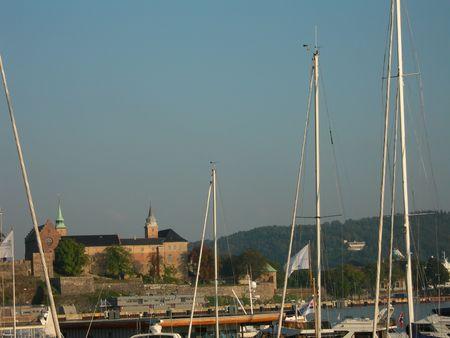 Oslo harbor photo