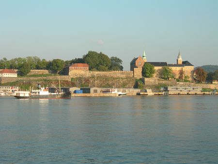 Akershus fortress in Oslo photo