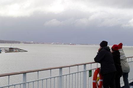 kiel fjord: Passengers