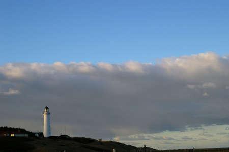 Lighthouse in Hirtshals in Denmark