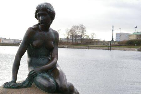 litle: The litle mermaid in Copenhagen