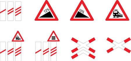 uphill: Traffic signs