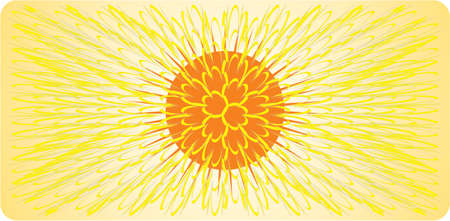 gradiant: sun Illustration