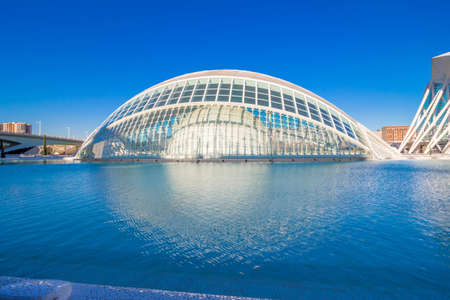 hemispheric: Valencia - city of arts and sciences; Hemispheric museum Editorial
