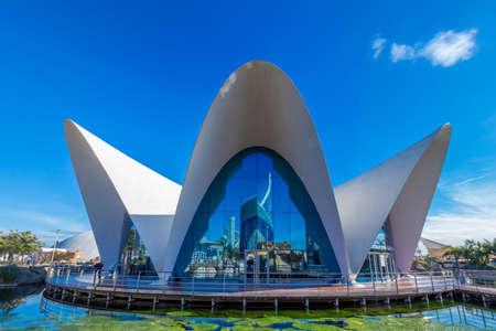 oceanographic: Valencia - city of arts and sciences; Oceanographic park