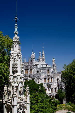 sintra: The Quinta da Regaleira is a complex of buildings built in the  style at the turn of the 20th century.  It forms part of the Cultural Landscape of Sintra