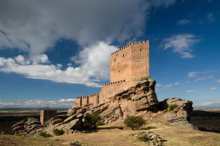 13th: Zafra Castle (Castillo de Zafra) is a 13th century fortress located in Guadalajara province, Spain.