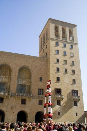 Human Towers Фото со стока - 696152