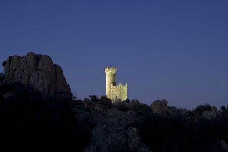 Atalaya de Torrelodones is een verdediging Moorse toren uit de 9de eeuw, gelegen in de buurt van Torrelodones Madrid, Spanje.