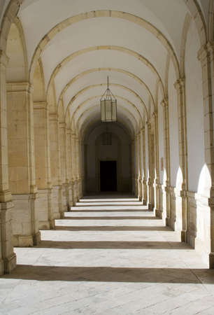 nicknamed: Cloisters at the Monastery of Ucles in Cuenca province, Castilla La Mancha is nicknamed El Escorial de La Mancha.  It was the headquarters for the Order of Santiago in medieval times.