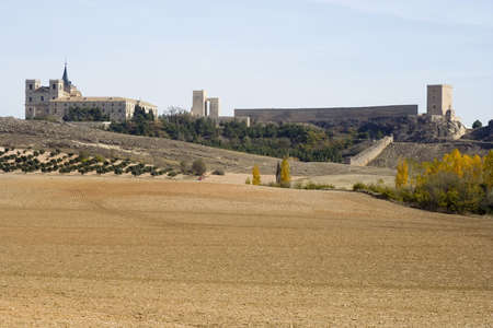 The Monastery of Ucles in Cuenca province, Castilla La Mancha is nicknamed El Escorial de La Mancha.  It was the headquarters for the Order of Santiago in medieval times