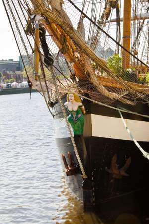 famine: Sail Away - identical replica of the historical tall ship, Jeanie Johnston. Originally built in 1847, the Jeanie Johnston is famous due to her amazing record. During the great famine, she carried over 2.500 Irish emmigrants to the USA and never lost a sou