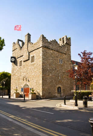 Medieval castle at Dalkey, in Dublin Ireland.