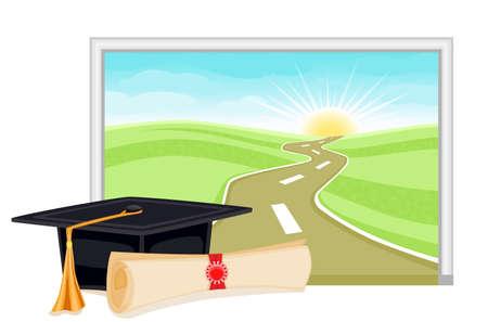 graduados: Graduaci�n el inicio para un futuro brillante