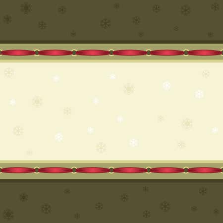 Vintage style Christmas seamless pattern