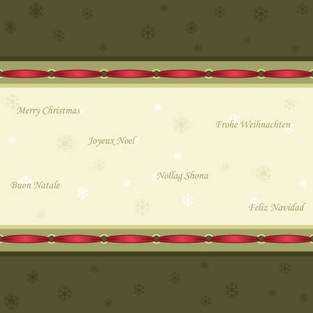 Vintage style Christmas seamless pattern  Stock Vector - 8114915