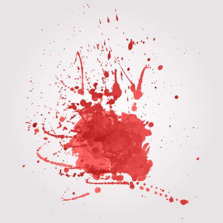 blutspritzer: Vector Blut Splatter