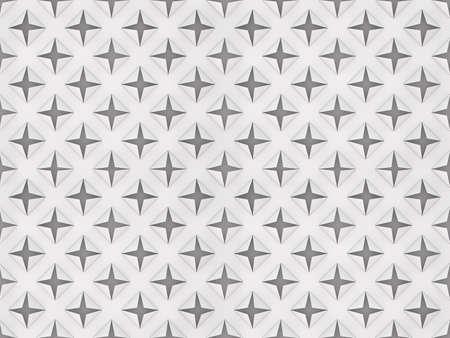 seamless paper cutout pattern