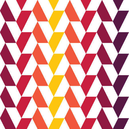 Colorful geometrical pattern. Seamless vector strip pattern. Ilustrace