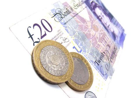uk money: Brittish pounds  Stock Photo