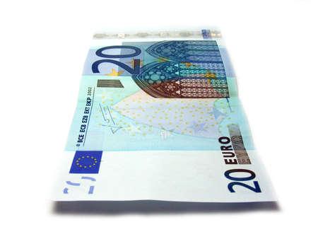 20 euro: 20 euro note