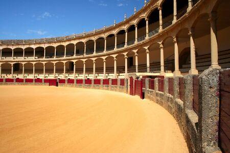 hemingway: Bullfighting arena in Ronda