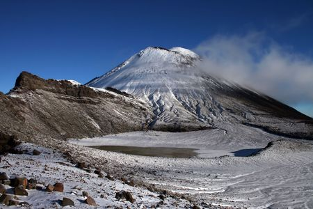 Mountain Ngauruhoe, New Zealand Stock Photo - 1826573