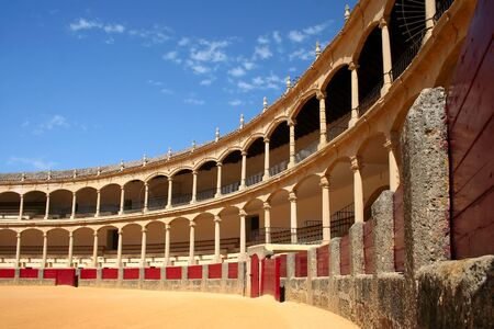 ronda: Bullfighting arena in Ronda