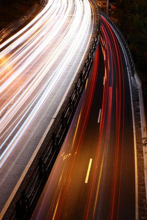 proceed: Nigth highway New York