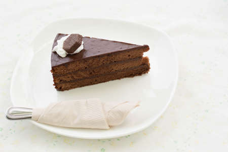 black chocolate cake photo
