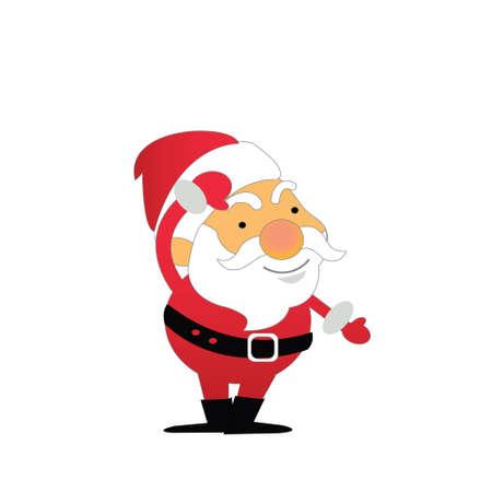 degraded: Santa Claus Illustration