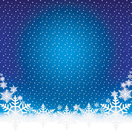 backdrop: Winter Holiday Snow Background Christmas Abstract Backdrop Illustration