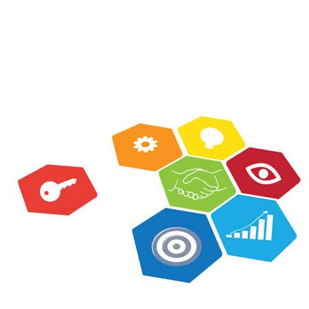 marketing: Business target marketing concept.