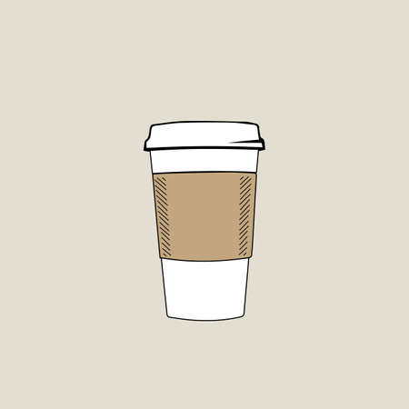 objects with clipping paths: Coffee Cup