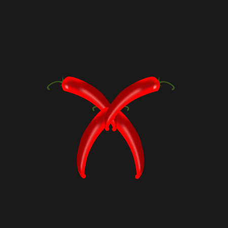 chilli peppers Illustration
