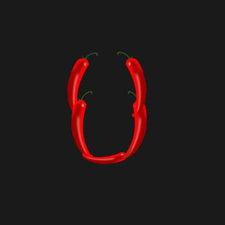 chili pepper: chilli peppers Illustration