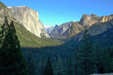 Yosemite valley in California photo