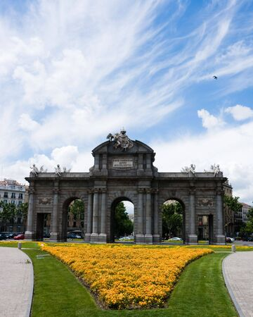 Alcala Gate in Madrid, Spain photo