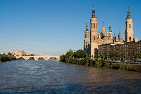 zaragoza: The basilica of El Pilar, Zaragoza Stock Photo