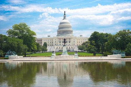 washington dc: United States Capitol in Washington D. C.