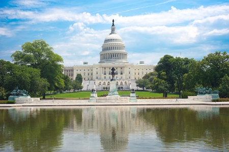 spojené státy americké: United States Capitol in Washington D. C.