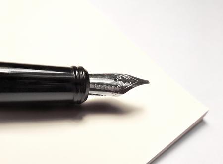 vulpen en antiek document