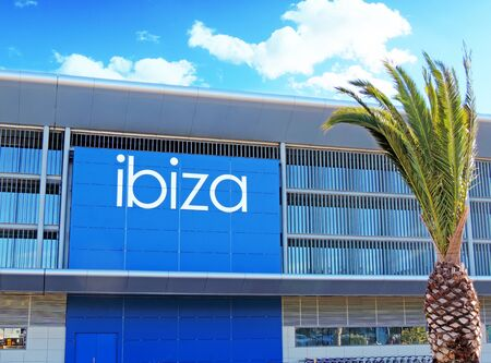 building feature: Airport of Ibiza, view from outside Editorial