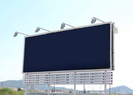 copyspace: blank billboard with copyspace Stock Photo
