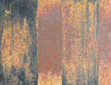 rusty background: Rusty striped background