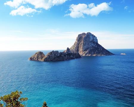 es: Magic rock of Ibiza. Es Vedra and Es Vedranell.