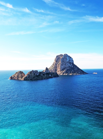 speculative: Magic rock of Ibiza. Es Vedra and Es Vedranell.