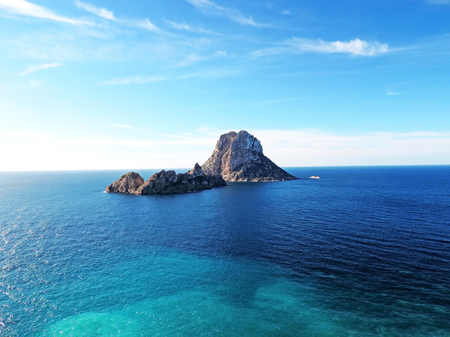 vedra: Magic rock of Ibiza. Es Vedra and Es Vedranell.